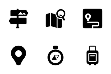 Traveling & Vacation Icon Pack