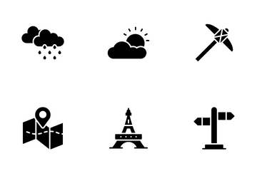 Travelling And Holiday Icon Pack