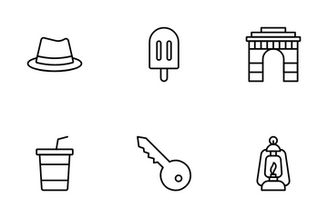 Travels & Tours Icon Pack