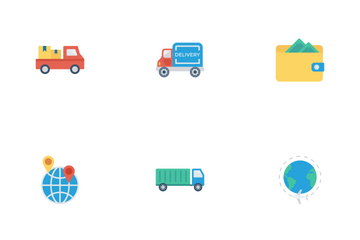 Travels & Tours Flat Vol 1 Icon Pack