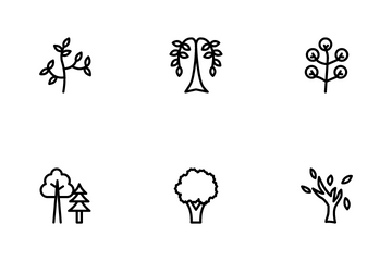 Tree Icon Pack