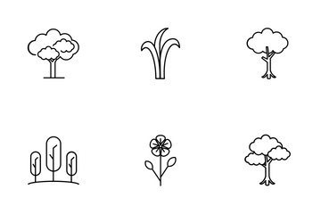 Tree And Garden Icon Pack