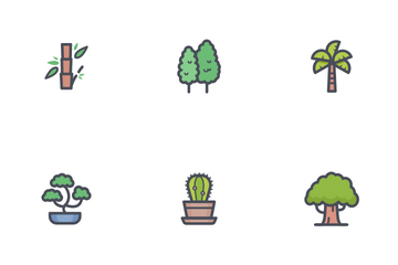 Tree And Natural Icon Pack