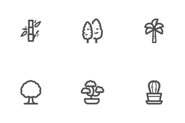Tree And Nature Icon Pack