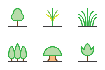 Tree Is My City Icon Pack