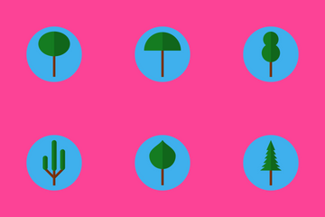 Treecons - Flat Icon Pack