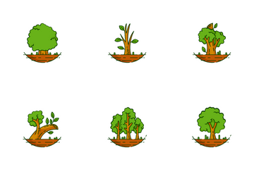 Trees Icon Pack