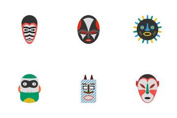Tribal Masks Icon Pack