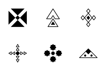 Tribal Vector Icon 2 Icon Pack
