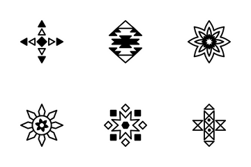 Tribal Vector Icons 1 Icon Pack