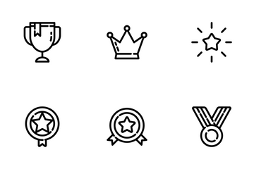 Trophy & Awards Icon Pack