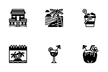 Tropical Icon Pack
