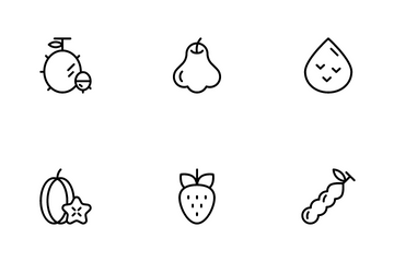 Tropical Fruit Icon Pack