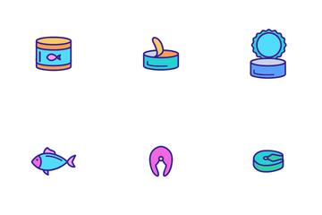 Tuna Fish Icon Pack