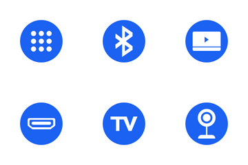 Tv Features  Icon Pack