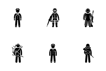 Type Of Soldier Icon Pack