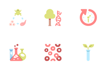Types Of Science Icon Pack