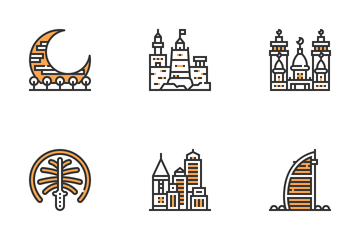 UAE Symbols Icon Pack