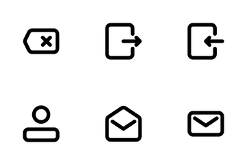 UI Message Line 1.0 Icon Pack