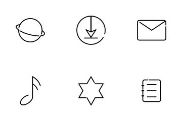 UI Basic Outline Icon Pack