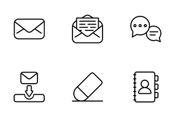 UI Email Icon Pack