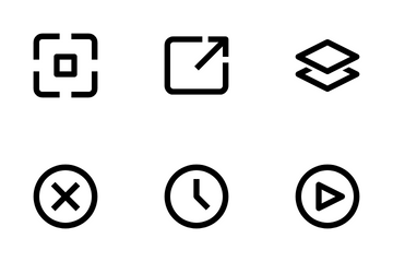 UI Essential Icon Pack