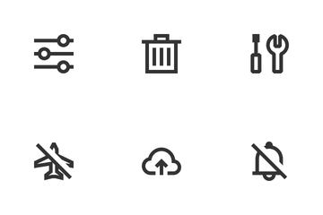 UI Essentials Line Icon Pack