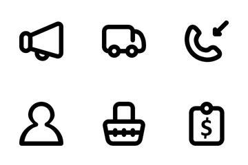 UI Marketplace Icon Pack