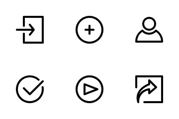 UI Media Icon Pack