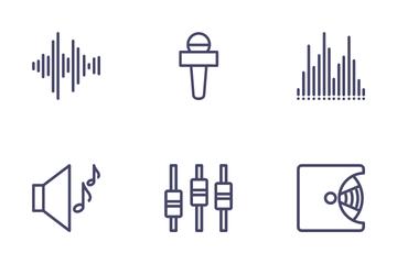 Ui Music Icon Pack
