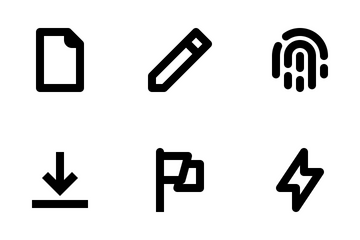 Ui/Ux Essencial Fat Line Vol.2. Icon Pack