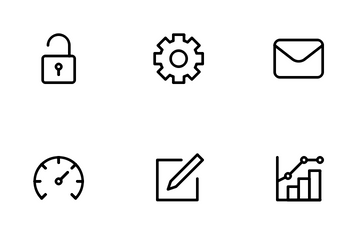 UI & UX Essentials Icon Pack