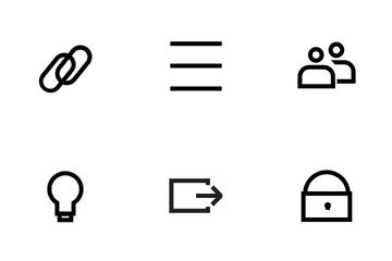 UI UX Icon Set Icon Pack