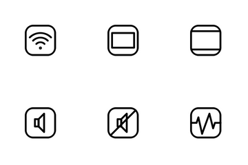 UI & UX Rounded Icon Pack