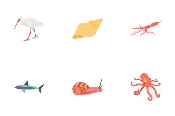 Underwater Life Icon Pack