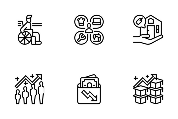 Unemployment Icon Pack