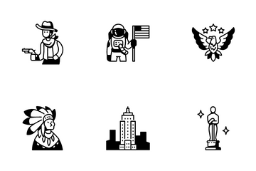United States Of America Icon Pack