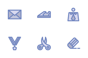 University And Education (Filled Line) Icon Pack