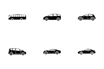 Urban City Transport Icon Pack