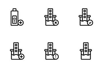 Urine Test Icon Pack