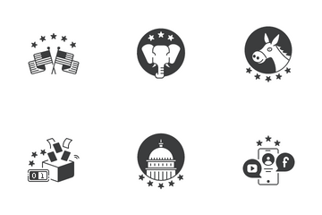 US Election 2020 Icon Pack