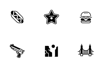 USA Elements Solid - Patriotic And Freedom Icon Pack