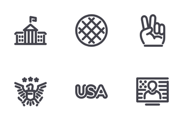 USA Independence Icon Pack