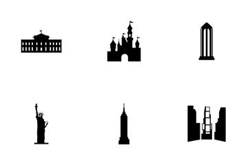 Usa Landmark Icon Pack
