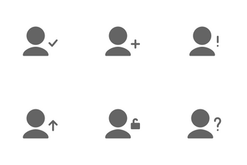 User Actions Icon Pack