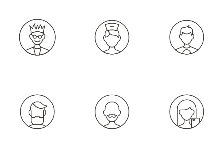 User Avatar Icon Pack