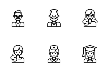 User Avatars Icon Pack