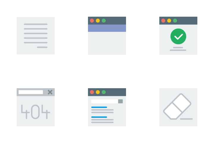 User Interface - Flat Icon Pack