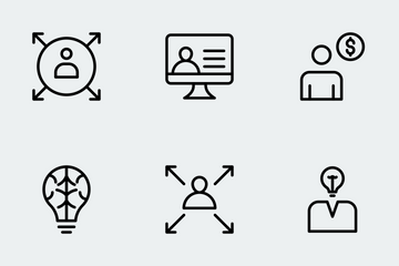 User Interface Line  Icon Pack