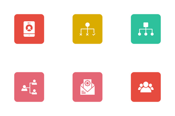 User Interface Square Rounded Icon Pack